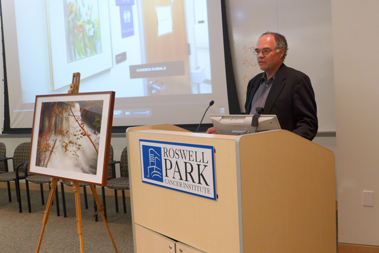 CEPA Gallery - Kevin Noble at the 2013 Oseroff Memorial Purchase Prize presentation ceremony