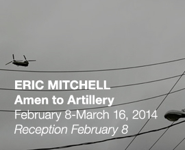 Eric Mitchell: Amen to Artillery