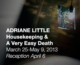 Adriane Little, <em>Housekeeping</em> & <em>A Very Easy Death</em>