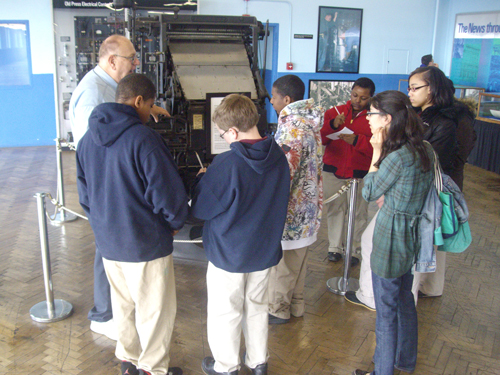 cepa gallery art programs in schools - buffalo public schools - news club field trip