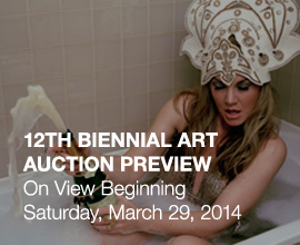 2014 Auction Preview Exhibition