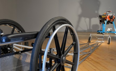 Death Drives a Dragster: New Work by Mark Snyder