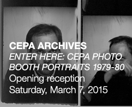 ENTER HERE: CEPA PHOTO BOOTH PORTRAITS 1979-80