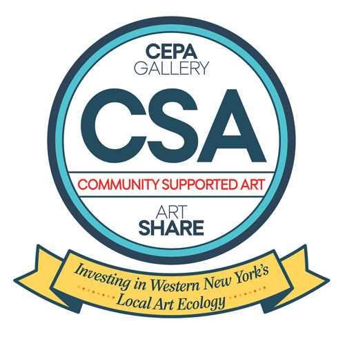 CEPA Gallery's 2015 Community Supported Art Logo