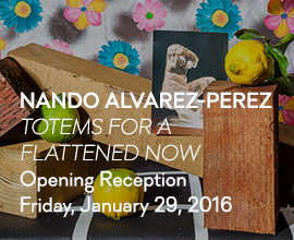 Nando Alvarez-Perez: Totems For A Flattened Now