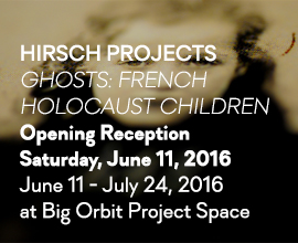 Ghosts: French Holocaust Children by Hirsch Projects