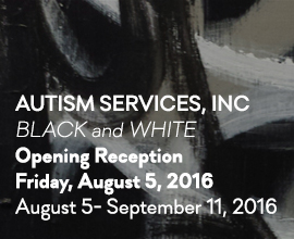 Autism Services, Inc: Black and White
