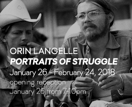 Orin Langelle: Portraits of Struggle